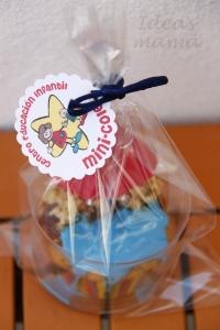 Cupcake playa regalo