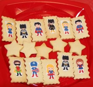 Galletas decoradas superheroes